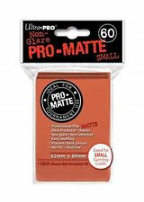60 Ultra Pro Peach Pro-Matte Deck Protectors. Trading Card Sleeves.