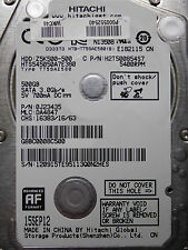 500 GB Hitachi HTS545050A7E380 / 0J23435 / DA4847 / SEP 12 / 0J21935  DA5256 *