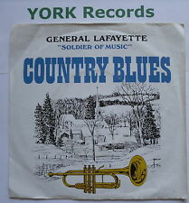 "GENERAL LAFAYETTE - Country Blues - Excellent Condition 7"" Single Plaza PZA 051"