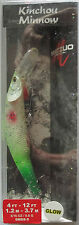 MATZUO  Kinchou Minnow Salmon Series - Size 9 - 5/16 oz. - Lemon Lime Spackle