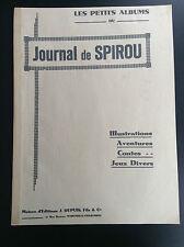 RARE Petit album Spirou Grand format  N° 44, 45 et 46 de 1939 TBE