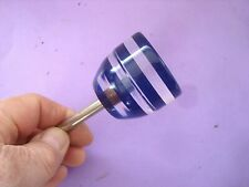 VINTAGE ORIGINAL BLUE LUCITE SHIFT KNOB MODEL A FORD EARLY FORD 1928 1948 Plus