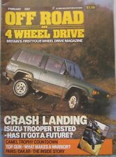 Off Road and 4 Wheel Drive magazine February 1987 featuring
