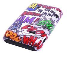 Schutzhülle f Sony Xperia tipo ST21i Case Cover Tasche Comic BooM Emoticons