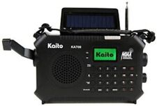 Kaito KA700 Bluetooth Emergency Crank Dynamo & Solar Powered AM FM NOAA Radio!