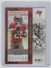 DOUG MARTIN Bucs SIGNED 2013 Contenders Football #23 Autograph ON CARD AUTO
