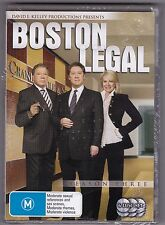 Boston Legal - Season Three - DVD (Brand New Sealed) 6 x DVD Region 4