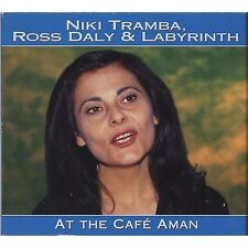 NIKI TRAMBA ROSS DALY & LABYRINTH - At the cafe' Aman CD 1998 OTTIME COND