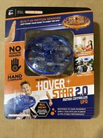 The Original Hover Star 2.0 Motion Controlled UFO BLUE NEW