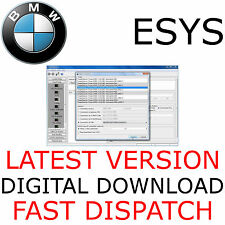 JUNE 2017 VERSION - BMW E-Sys ESYS Software & PSDZDATA PSDZ V3.61.5.000