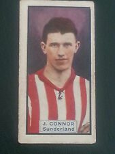 CALCIO/automobili: THOMSON 1930 TRADE card-SUNDERLAND/LEA Francis