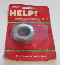 Help 04977 Spindle Nut - For 82-17 GM Chevy Buick etc - M24-2.0 36mm hex 615-095