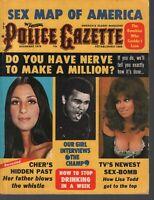 Police Gazette December 1975 Cher Muhammad Ali Lisa Todd 083120AME
