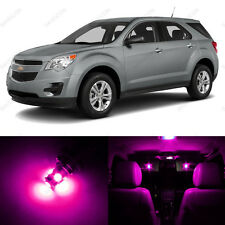 7 x Pink/Purple LED Interior Light Package For 2010 - 2013 Chevy Equinox