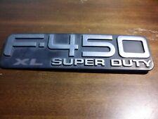 F-450 BRAND NEW OEM FORD F-450 XL SUPER DUTY EMBLEM F450 05-07 #5C3Z-16720-PA