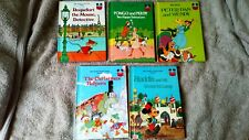 5x Walt Disney World of Books Bundle (2) textured