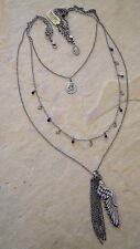 KONPLOTT Kette aus der Serie Angel´s Heart  black / antique silver
