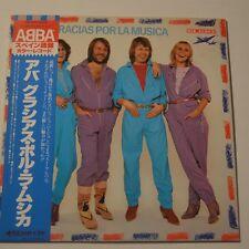 ABBA - GRACIAS POR LA MUSICA -  1980 JAPAN LP COLOR VINYL