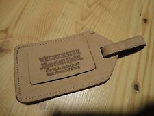 WESTCHESTER MARRIOTT HOTEL TARRYTOWN NY Luggage Leather Identification Tag
