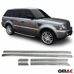 Fits Range Rover Sport 2006-2013 Chrome Side Door Trim Streamer Stainless Steel