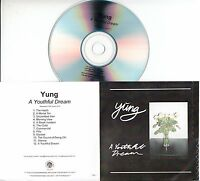 YUNG A Youthful Dream 2016 UK 12-trk numbered promo test CD