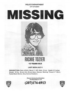 1990 Stephen King IT > Missing Richie Tozier > Pennywise > Clown > Poster/Print