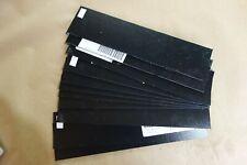 "BLACK KYDEX PLASTIC SHEET .093""(3/32"") X 2.75"" X 12"" THERMOFORMING"