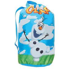 Disney Frozen Olaf  Indoor Slumber Sleeping Bag For Kids w/Carry Drawstring