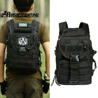 40L Molle Bag Army Tactical Backpack Military Trekking Rucksack Hiking Camping