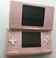 Nintendo DS Original NTR-001 Console - Pink - Tested Works - FAIR Condition