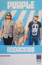 "Purple ""Bodacious"" U.S. Promo Poster - Punk, Rock Music"