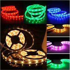 5050 led Strip 5M 300 LEDs Cool White Warm Amber Red Green Blue SMD Light NP 12V