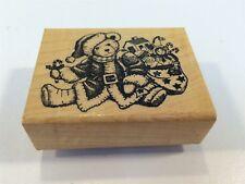 Delafield Stamp Company Rubber Stamp G701 Santa Bear
