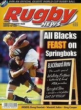 Nz Rugby News 34-22, 23 Jul 2003 Doug Howlett, Wendell Sailor, Greg Cooper