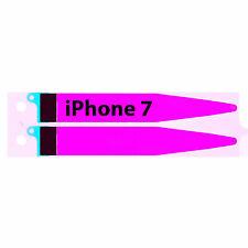Original IPHONE 7 Batería Cinta Adhesiva Pegamento Rayas Blanco
