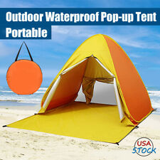 Pop Up Beach Tent Sun Shade Triangle Portable Outdoor Camping Canopy Shelter