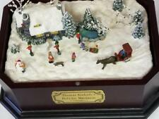 THOMAS KINKADE MUSIC BOX - PLAYS HAVE YOURSELF A MERRY LITTLE CHRISTMAS