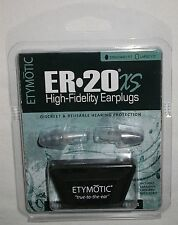 New ER20XS Standard Size Etymotic Musician Hearing Protection Ear Plugs