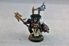 Warhammer Space Marine Dark Angels Interrogator Chaplain Well Painted