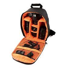 Waterproof Camera DSLR Lens Backpack Case Bag Adjustable Padded Divider Oy