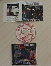 RARE CD album BUFFALO WAYNE LIVE IN EUROPE 17 TITRES