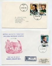 BAT Explorers Series 1976, 1979, Cover, One Registered. Halley Bay Postmarks