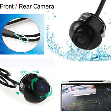 360 Degree CCD HD Night Vision Car Rear View Front Camera Parking Cam Waterproof