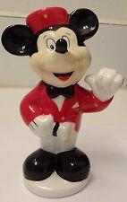 Disney MICKEY MOUSE MOVIE USHER ceramic salt shaker new