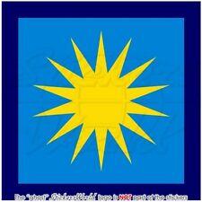 MALAYSIEN Früher Luftwaffe Königliche Malaysische Roundel TUDM Sticker Aufkleber