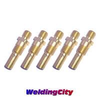 WeldingCity 5 MIG Welding Gun Gas Diffusers 35-50 for Tweco Mini/#1 Lincoln 100L