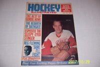1968 Hockey Illustrated DETROIT RED WINGS Gordie HOWE Phil ESPOSITO Bathgate