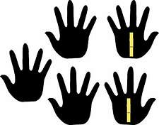 5 Hand Blackboard Signs perfect for Shops, Cafe Nail Bars, Schools, Nursery's