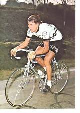 CYCLISME carte PATRICK BEON  (equipe peugeot esso 1976)  signée