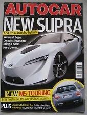Autocar 10/1/2007 featuring Lexus LS460, Infiniti G35, VW Golf GTi, Audi, Seat
